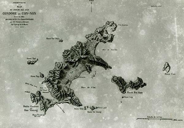 Bản đồ Côn Đảo từ năm 1862