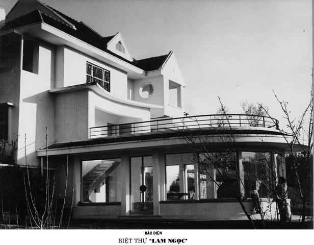 Hậu điện Biệt thự Lam Ngọc